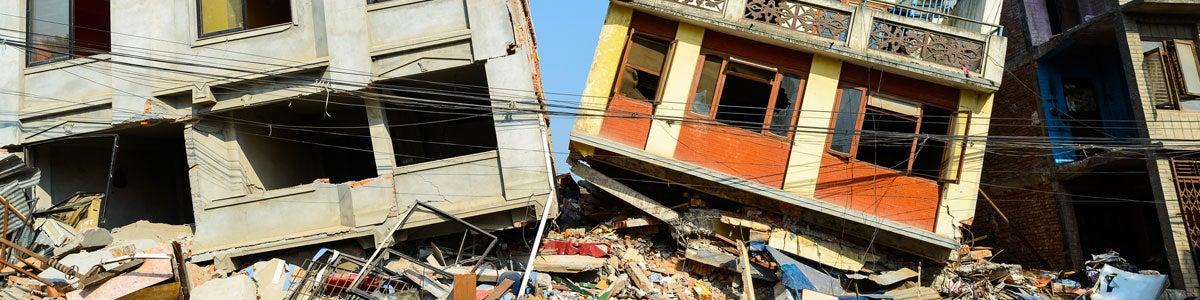Earthquake disaster plan