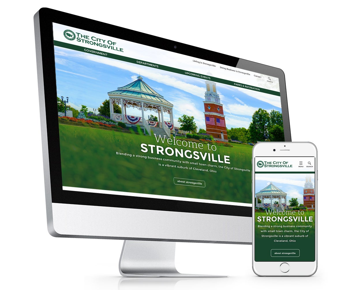 Strongsville city website
