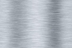 Silber Metallplatte