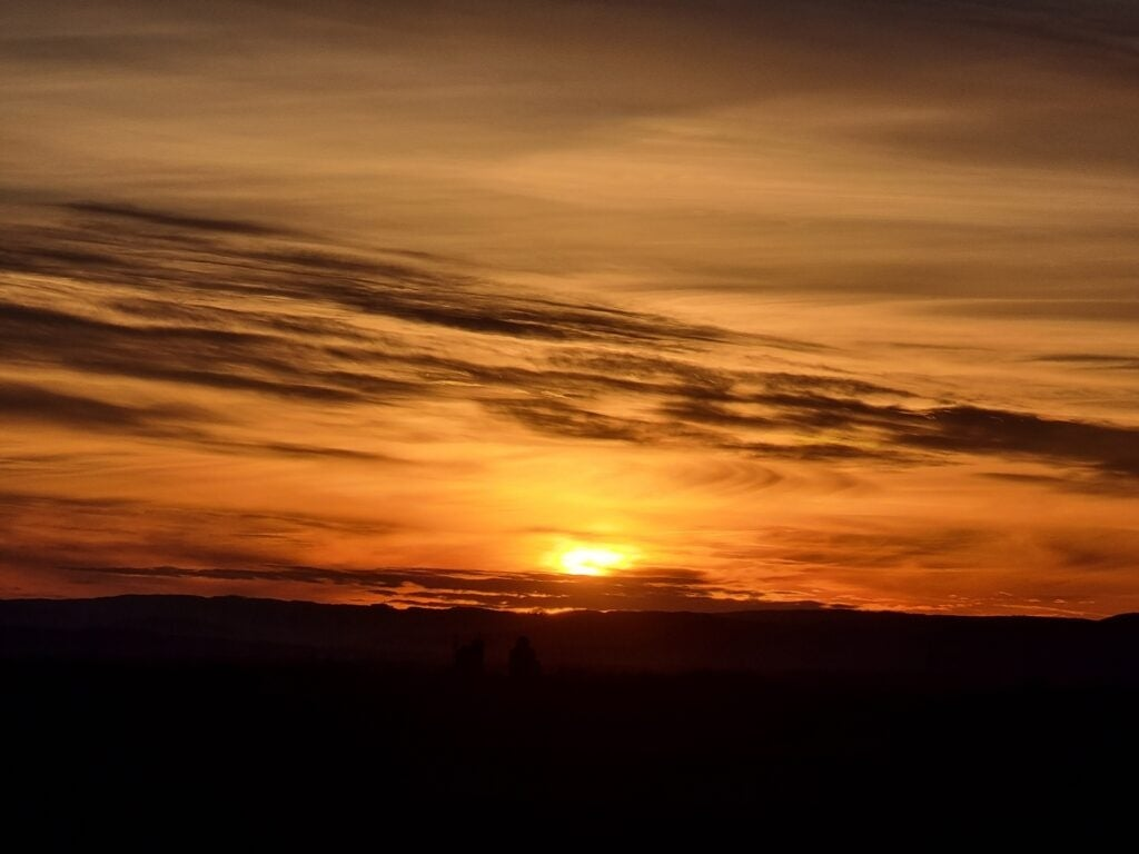 Sonnenuntergang Testfoto Samsung Galaxy S21 Ultra 5G