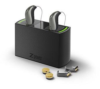 Wiederaufladbare Batterien für Hörgeräte