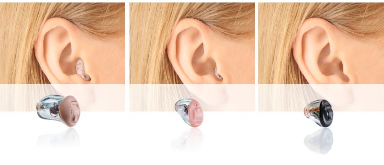 Im-Ohr-Hörgeräte