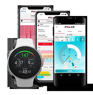 Polar Smartwatch & Smartwatch-Apps