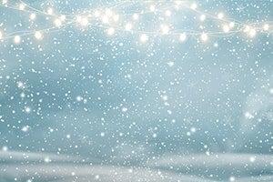 Winterlicher Hintergrund - Illustration