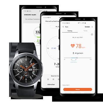 Samsung Smartwatch & Smartwatch-Apps