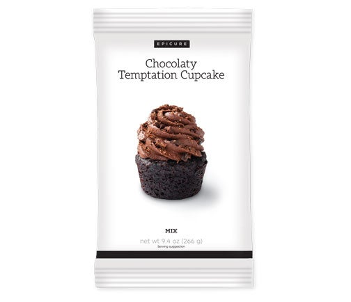 Chocolaty Temptation Cupcake Mix (Pkg of 2)