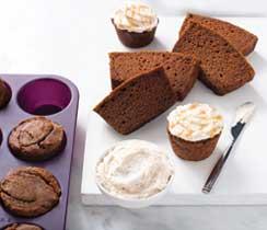 Pumpkin Spice Loaf & Muffins