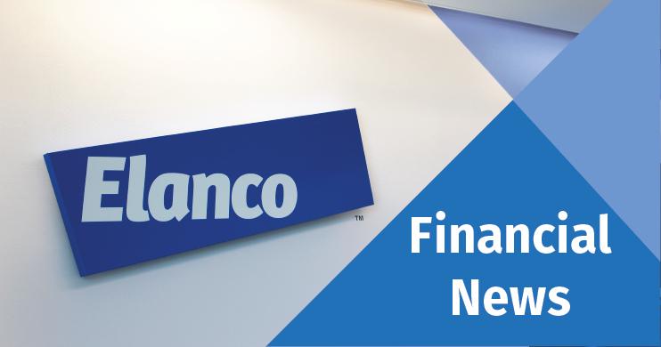 Elanco logo with Financial News caption