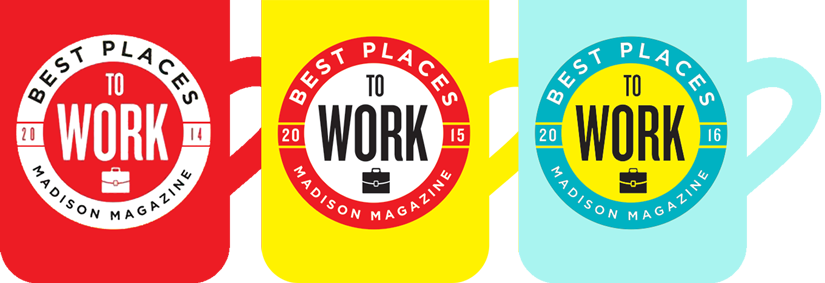 Best Places to Work Award 2014-2016