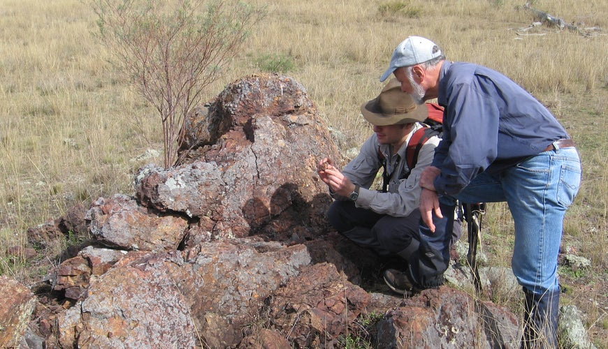 Explorers Mapping Ironstone