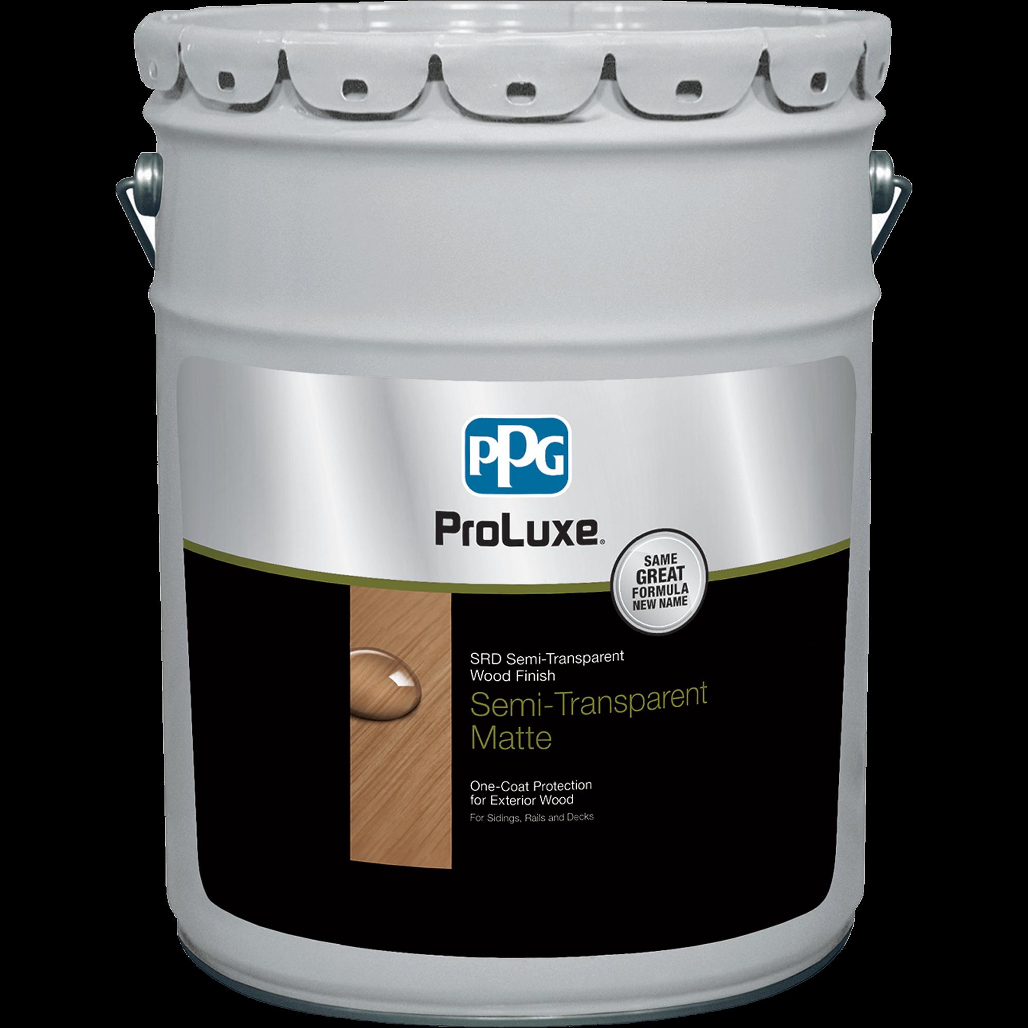 PROLUXE<sup>®</sup> SRD Semi-Transparent Wood Finish 5 gallon