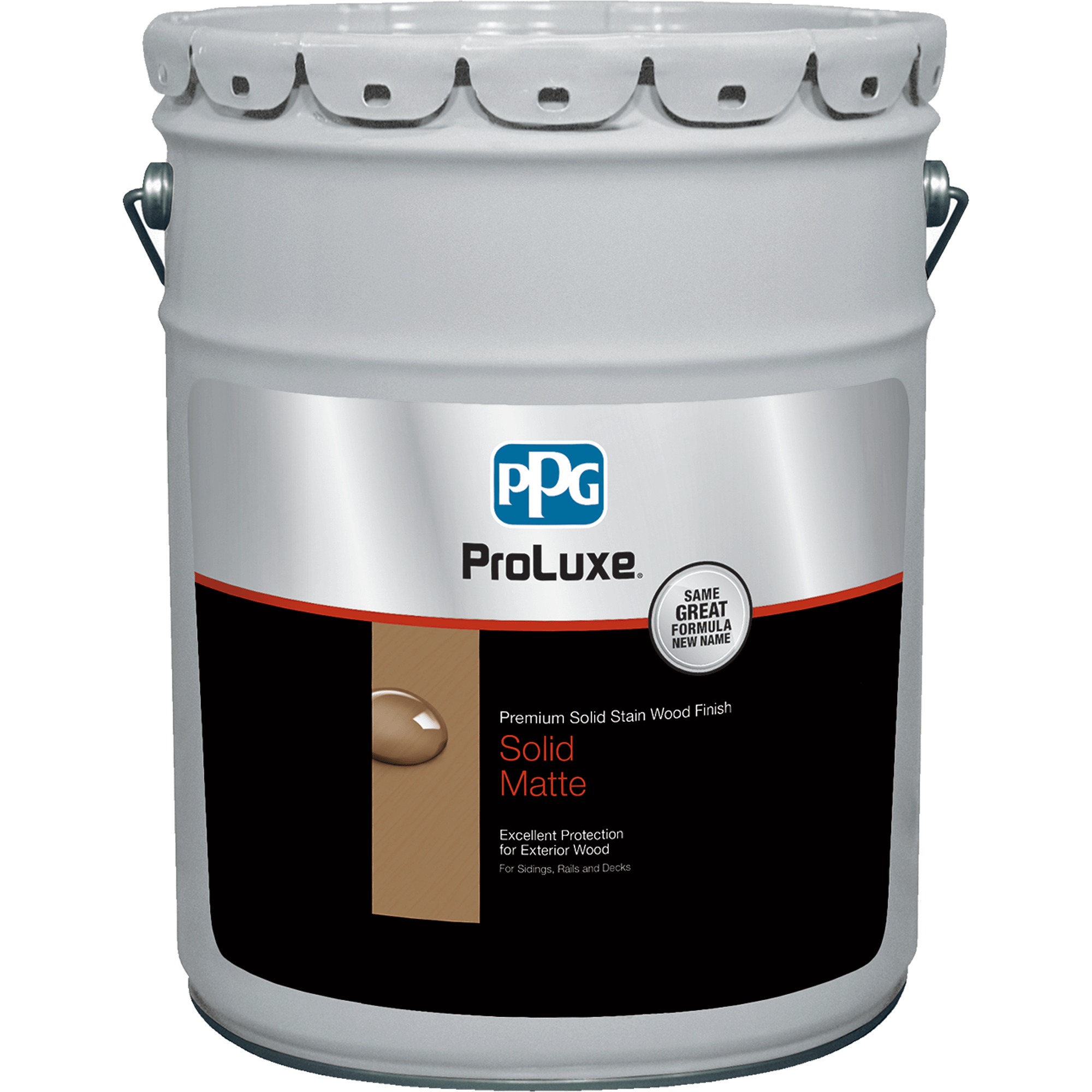 PROLUXE<sup>®</sup> Premium Solid Stain Wood Finish 5 Gallon