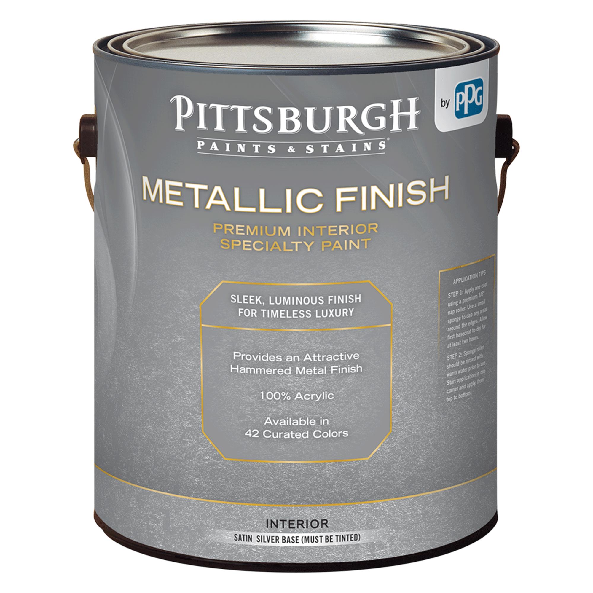 METALLIC FINISH Silver Base